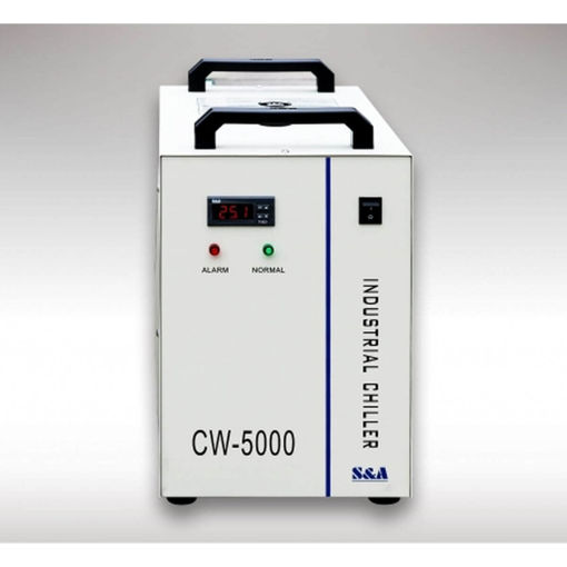Picture of Industrial chiller CW5000 for cooling laser tubes