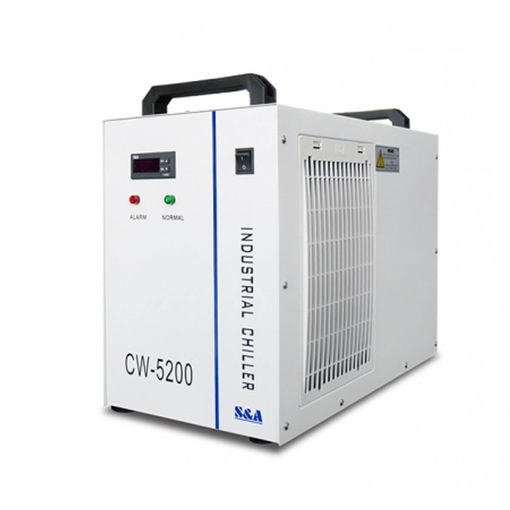 Picture of Industrial chiller CW5200 for cooling laser tubes