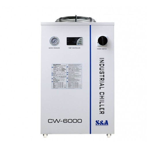 Picture of Industrial chiller CW6000 for cooling laser tubes